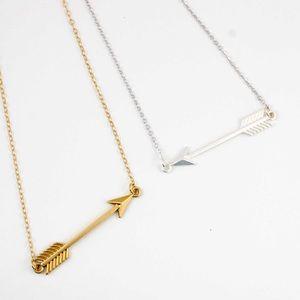 Jewelry - Dainty Arrow Statement Necklace